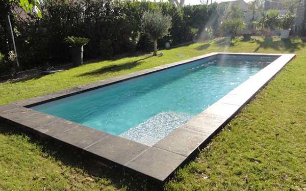piscine polyester couloir de nage h rault 34 infinity 1. Black Bedroom Furniture Sets. Home Design Ideas