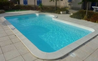 Piscine polyester classique Hérault - 34 - Syracuse